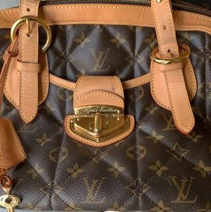 Authentic Louis Vuitton Etoile Quileted Handbag GM